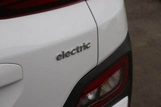 2020 Hyundai Kona OSEV.2 MY20 electric Elite Chalk White 1 Speed Reduction Gear Wagon