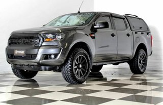 2017 Ford Ranger PX MkII MY17 Update XLS 3.2 (4x4) Grey 6 Speed Automatic Double Cab Pick Up