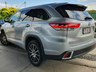 2018 Toyota Kluger Grande Silver 8 Speed Automatic Wagon.
