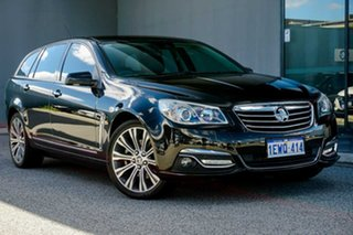 2014 Holden Calais VF MY14 V Sportwagon Black 6 Speed Sports Automatic Wagon.