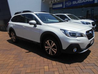 2020 Subaru Outback B6A MY20 2.5i CVT AWD Premium Crystal White 7 Speed Constant Variable Wagon.