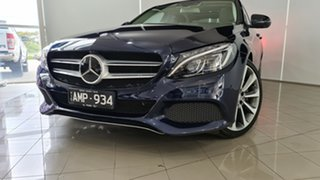 2016 Mercedes-Benz C-Class W205 807MY C250 7G-Tronic + Blue 7 Speed Sports Automatic Sedan.