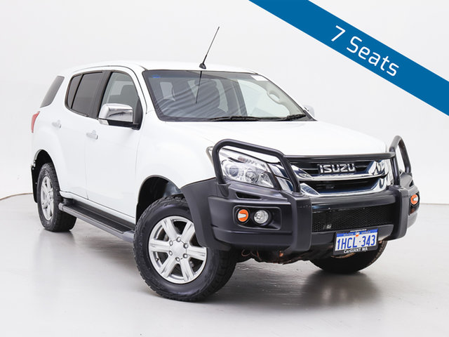 Used Isuzu MU-X UC MY15 LS-U (4x4), 2015 Isuzu MU-X UC MY15 LS-U (4x4) White 5 Speed Automatic Wagon