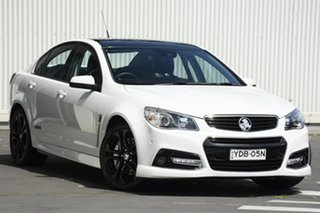 2015 Holden Commodore VF MY15 SS V Redline White 6 Speed Sports Automatic Sedan.
