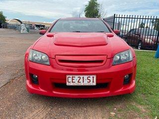2008 Holden Ute VE SS V Red 6 Speed Manual Utility.