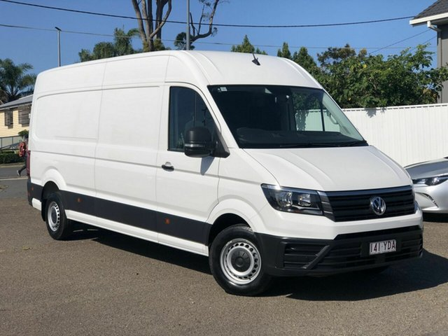 Used Volkswagen Crafter SY1 MY18 35 High Roof LWB TDI340 Runner Chermside, 2018 Volkswagen Crafter SY1 MY18 35 High Roof LWB TDI340 Runner White 6 Speed Manual Van