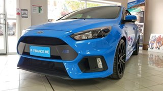 2017 Ford Focus LZ RS AWD Nitrous Blue 6 Speed Manual Hatchback