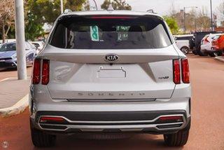 2020 Kia Sorento GT-Line Silky Silver Sports Automatic Dual Clutch Wagon.
