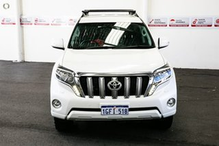 2017 Toyota Landcruiser Prado GDJ150R VX Crystal Pearl 6 Speed Sports Automatic Wagon.