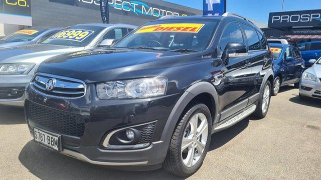 Used Holden Captiva CG MY14 7 AWD LTZ Prospect, 2014 Holden Captiva CG MY14 7 AWD LTZ Black Sapphire 6 Speed Sports Automatic Wagon