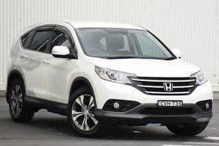 2014 Honda CR-V RM MY15 VTi Plus White 5 Speed Automatic Wagon