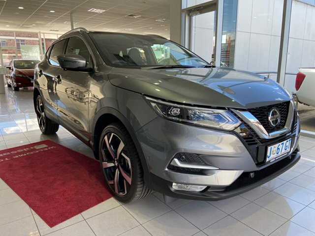 Demo Nissan Qashqai J11 Series 3 MY20 Ti X-tronic Launceston, 2020 Nissan Qashqai J11 Series 3 MY20 Ti X-tronic Gun Metallic 1 Speed Constant Variable Wagon
