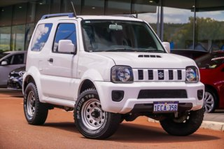 2013 Suzuki Jimny SN413 T6 Sierra White 5 Speed Manual Hardtop.