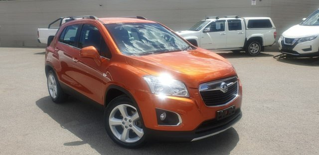 Used Holden Trax TJ MY16 LTZ Elizabeth, 2016 Holden Trax TJ MY16 LTZ Orange 6 Speed Automatic Wagon