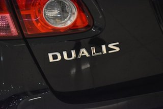 2009 Nissan Dualis J10 Ti AWD Black 6 Speed Manual Hatchback