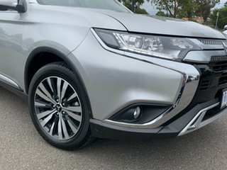2019 Mitsubishi Outlander ZL MY20 LS 2WD Billet Silver 6 Speed Constant Variable Wagon