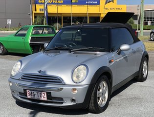 2005 Mini Cabrio R52 MY05 Cooper Silver 5 Speed Manual Convertible