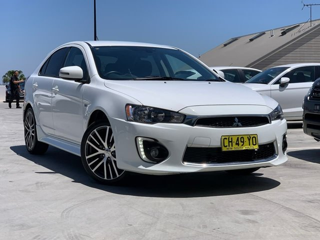 Used Mitsubishi Lancer CF MY16 ES Sport Liverpool, 2016 Mitsubishi Lancer CF MY16 ES Sport White 6 Speed Constant Variable Sedan