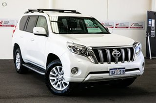 2017 Toyota Landcruiser Prado GDJ150R VX Crystal Pearl 6 Speed Sports Automatic Wagon