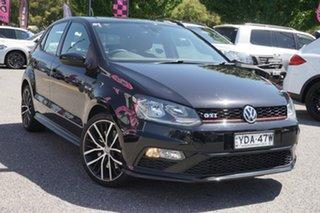2015 Volkswagen Polo 6R MY15 GTI DSG Black 7 Speed Sports Automatic Dual Clutch Hatchback.
