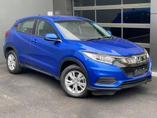 2019 Honda HR-V MY20 VTi Blue 1 Speed Constant Variable Hatchback.