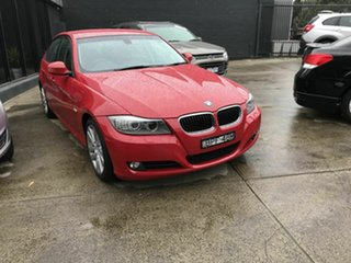 2010 BMW 320i E90 MY09 Executive Red 6 Speed Auto Steptronic Sedan