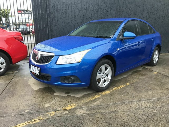 Used Holden Cruze JH CD Fawkner, 2011 Holden Cruze JH CD Blue 5 Speed Manual Sedan