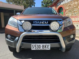 2015 Isuzu MU-X MY15 LS-T Rev-Tronic Outback Bronze 5 Speed Sports Automatic Wagon