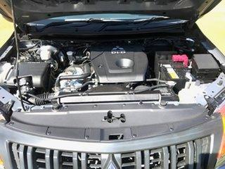 2017 Mitsubishi Triton MQ MY17 GLX+ Double Cab Grey 6 Speed Manual Utility