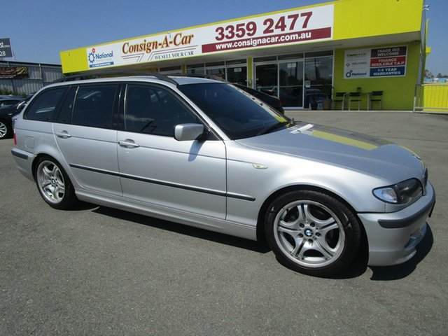 Used BMW 3 Series E46 MY2004 320i Touring Steptronic Kedron, 2005 BMW 3 Series E46 MY2004 320i Touring Steptronic Silver 5 Speed Automatic Wagon