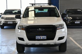 2016 Ford Ranger PX MkII XL 2.2 Hi-Rider (4x2) Cool White 6 Speed Automatic Crew Cab Pickup