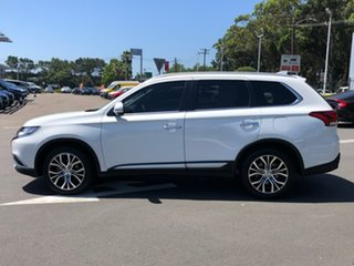2016 Mitsubishi Outlander ZK MY17 Exceed 4WD White 6 Speed Constant Variable Wagon