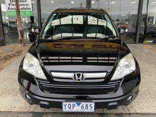 2007 Honda CR-V MY07 (4x4) Luxury Black 6 Speed Manual Wagon.