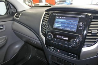 2017 Mitsubishi Triton MQ MY18 GLX Plus (4x4) White 6 Speed Manual Dual Cab Utility