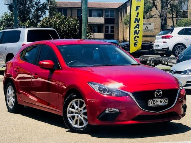 Used Mazda 3 BM5478 Neo SKYACTIV-Drive Liverpool, 2013 Mazda 3 BM5478 Neo SKYACTIV-Drive Red 6 Speed Sports Automatic Hatchback