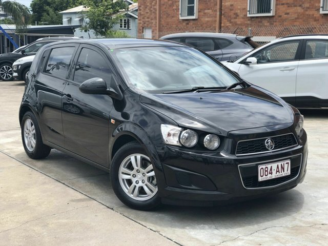 Used Holden Barina TM MY14 CD Chermside, 2013 Holden Barina TM MY14 CD Black 6 Speed Automatic Hatchback