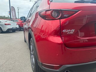 2019 Mazda CX-5 KF4WLA GT SKYACTIV-Drive i-ACTIV AWD Red 6 Speed Sports Automatic Wagon