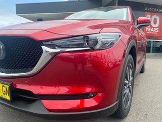 2019 Mazda CX-5 KF4WLA GT SKYACTIV-Drive i-ACTIV AWD Red 6 Speed Sports Automatic Wagon.