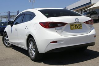 2016 Mazda 3 BN5278 Maxx SKYACTIV-Drive White 6 Speed Sports Automatic Sedan.