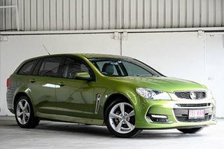 2016 Holden Commodore VF II MY16 SV6 Sportwagon Jungle Green 6 Speed Sports Automatic Wagon.