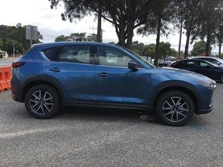 2020 Mazda CX-5 KF4WLA GT SKYACTIV-Drive i-ACTIV AWD Eternal Blue 6 Speed Sports Automatic Wagon.