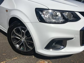 2017 Holden Barina TM MY17 LS White 6 Speed Automatic Hatchback