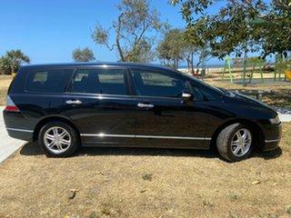 2007 Honda Odyssey 3rd Gen MY07 Black 5 Speed Automatic Wagon.