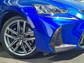 2018 Lexus IS GSE31R IS350 F Sport Blue 8 Speed Sports Automatic Sedan.