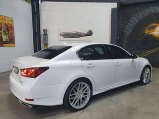 2012 Lexus GS GRL11R GS250 Luxury White 6 Speed Sports Automatic Sedan