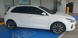 2018 Hyundai i30 PD2 MY18 SR D-CT Polar White 7 Speed Sports Automatic Dual Clutch Hatchback.
