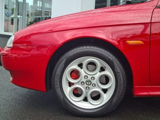 2002 Alfa Romeo 156 JTS Red 5 Speed Manual Sedan