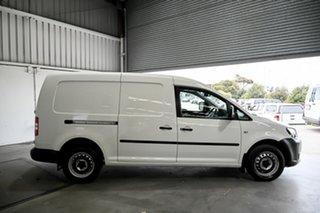2014 Volkswagen Caddy 2KN MY14 TDI250 BlueMOTION Maxi DSG White 7 Speed Sports Automatic Dual Clutch