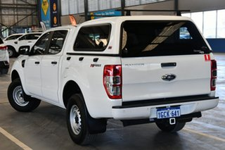 2016 Ford Ranger PX MkII XL 2.2 Hi-Rider (4x2) Cool White 6 Speed Automatic Crew Cab Pickup.