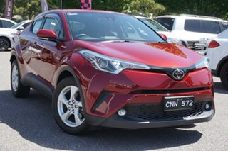 2017 Toyota C-HR NGX10R S-CVT 2WD Red 7 Speed Constant Variable Wagon.